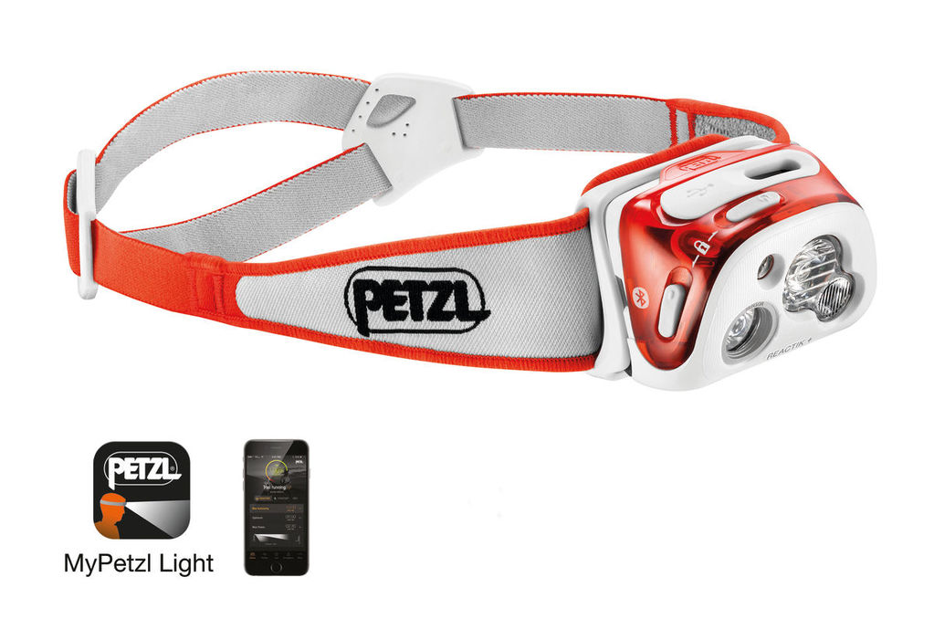 Petzl Reactik Plus für Trailrunning