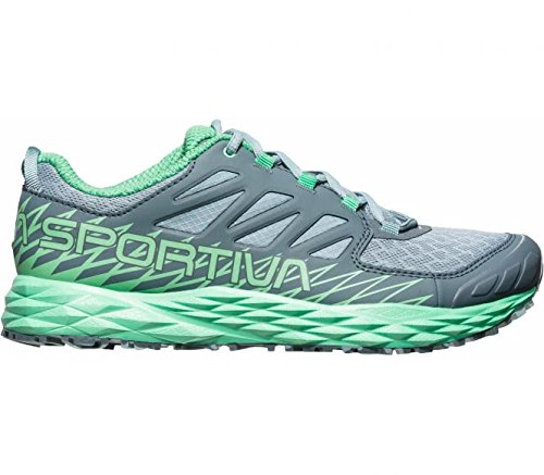 La Sportiva Damen Lycan Woman Traillaufschuhe, Mehrfarbig (Steinblau/Jadegrün 000), 38 EU