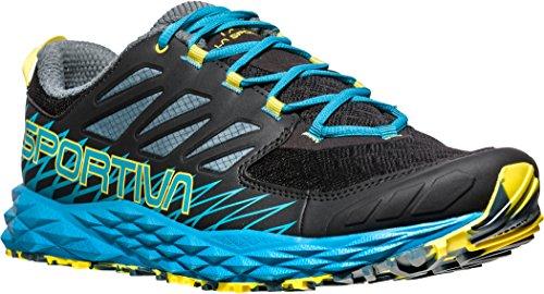 La Sportiva Herren Lycan Traillaufschuhe, Mehrfarbig (Schwarz/Tropisches Blau 000), 45 EU