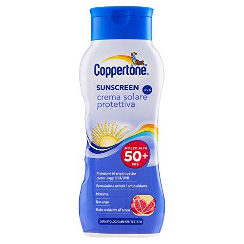 sunscreen crema solare protettiva spf 50+ 200 ml