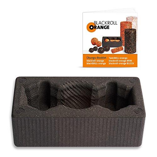 Blackroll Orange (Das Original) - BLOCK inkl. Übungsbooklet