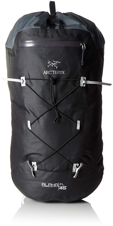 Arcteryx Erwachsene Rucksack Alpha FL Backpack, Black, 45 Liter,