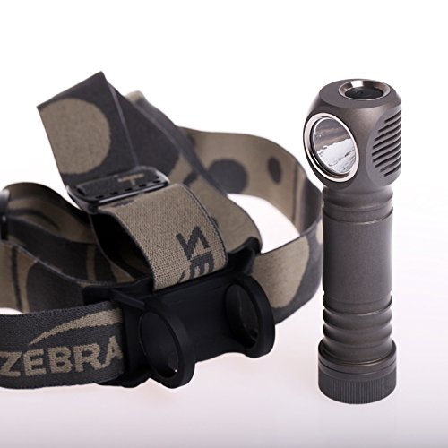 Zebralight H600 Mk 3 Stirnlampe Test 1300 Lumen