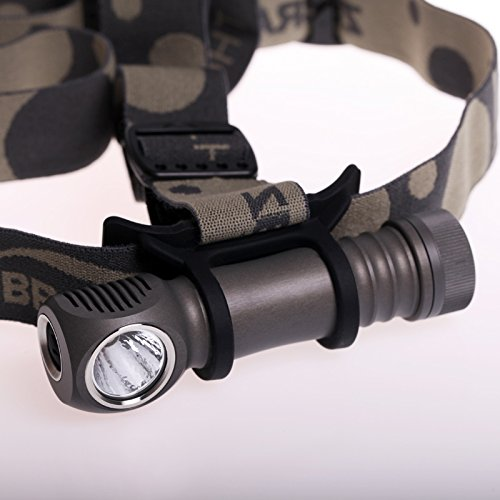 Zebralight H600 Mk 3 Stirnlampe im Test 1300 Lumen