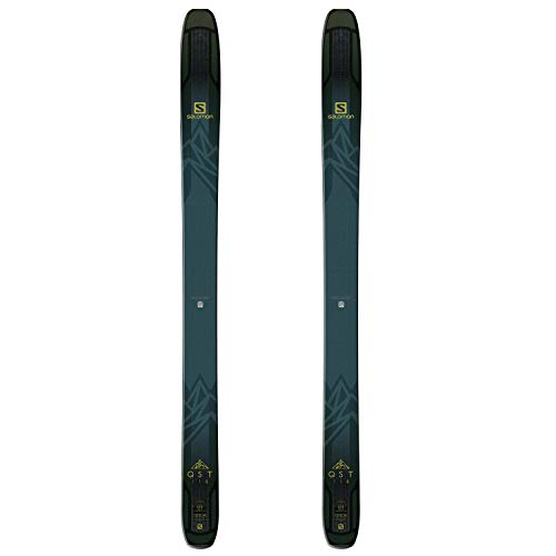 Salomon SKIS N QST 118 DarkGreen/Gold Größe 185 DarkGreen/Gold