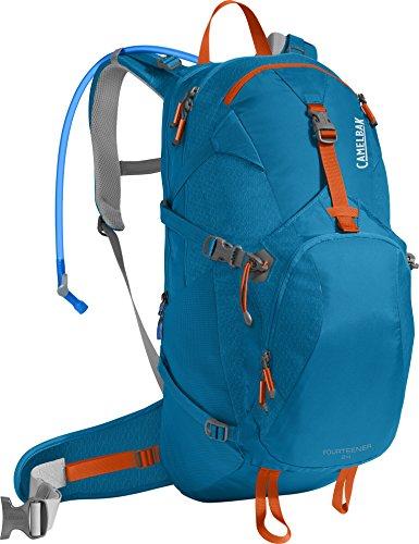CamelBak Products LLC Fourteener 24 Hydration Pack Trinkrucksack Grecian Blue/Pumpkin 100 oz
