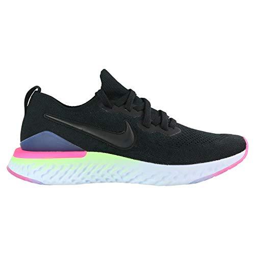 Nike BQ8928 003 Epic React Flyknit 2 Laufschuhe Schwarz