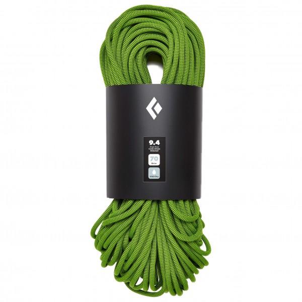 Black Diamond - 9.4 Rope Dry - Einfachseil Gr 60 m;70 m oliv/schwarz/grün