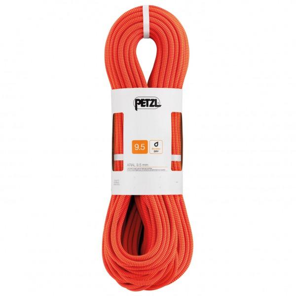 Petzl - Arial 9,5 - Einfachseil Gr 60 m;70 m;80 m orange/weiß;rot/weiß