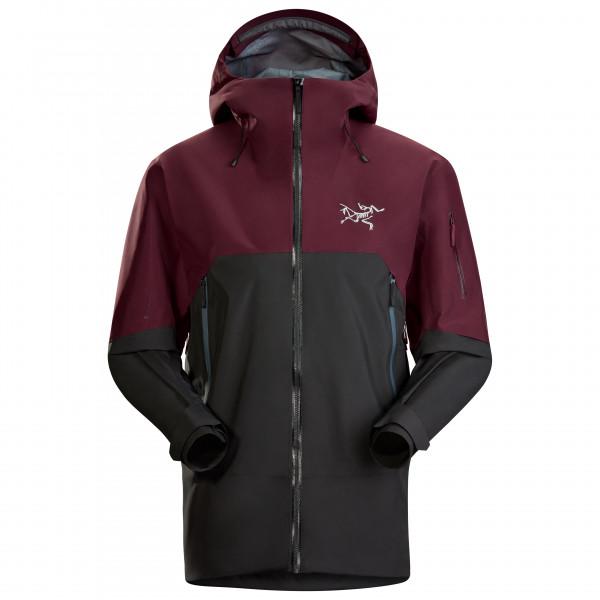 Arc'teryx - Rush Jacket - Skijacke Gr L;M;S;XL lila;rot/braun;schwarz/lila