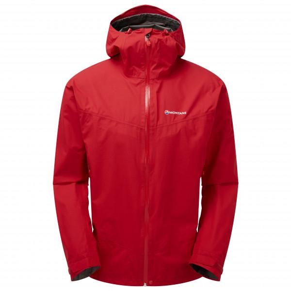 Montane - Pac Plus Jacket - Regenjacke Gr S;XXL blau;rot