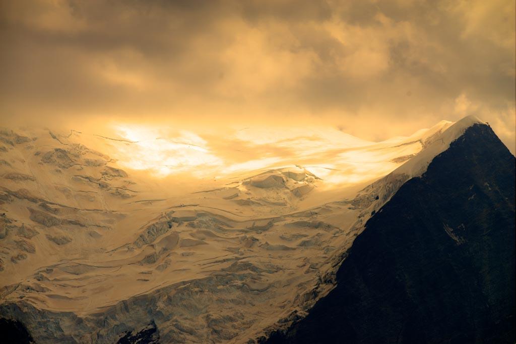 Ecrins nach Mont Blanc