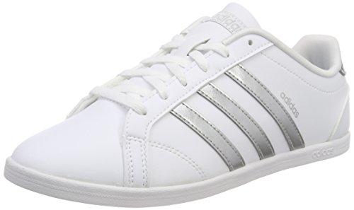 adidas Damen Coneo QT Fitnessschuhe, Weiß Plamat/Ftwbla 000, 39 1/3 EU