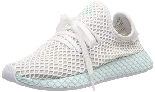 adidas Damen Deerupt Runner W, Laufschuhe, Weiß (Ftwr White/Grey One F17/Clear Mint Ftwr White/Grey One F17/Clear Mint), 39 1/3 EU (6 UK)