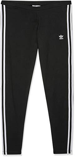 Adidas Damen Leggings 3 Streifen, Schwarz (Black), 36