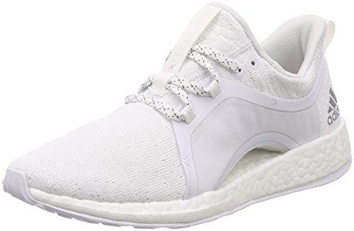 adidas Damen Pureboost X All Terrain Traillaufschuhe, weiß/Silber, 38 EU