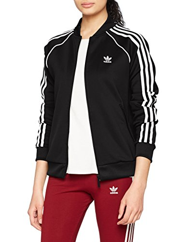 adidas Damen SST Originals Jacke, Schwarz (Black), 38