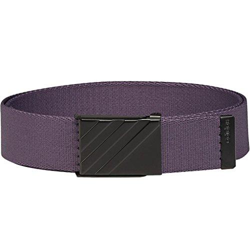 adidas Golf 2018 Mens 3 Stripe Webbing Belt Trace Purple One Size