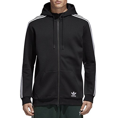 adidas Herren Curated Jacke, Black, L