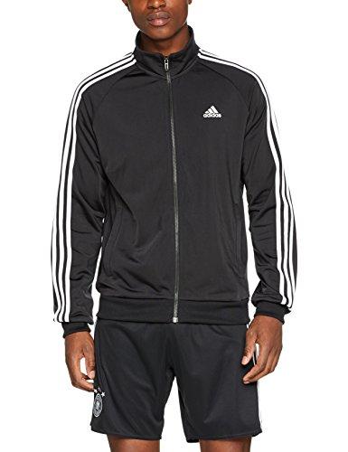adidas Herren Jacke Essentials 3-Stripes Tricot Track, Black/White, S, BR1024