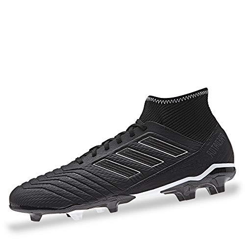 adidas Herren Predator 18.3 Fg Fußballschuhe, Schwarz (Negbás/Ftwbla 000), 42 2/3 EU