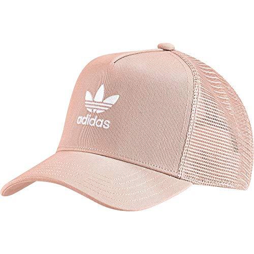 adidas Herren Trefoil Trucker Baseball-Cap, Dust Pink/White, FR Unique (Taille Fabricant : OSFM)