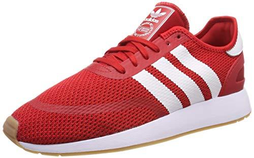 adidas N-5923, Herren Gymnastikschuhe, Rot (Scarlet/Ftwr White/Gum4), 41 1/3 EU (7.5 UK)