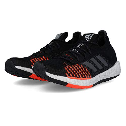 adidas Pulse Boost HD M Black Grey Solar Red 42.5