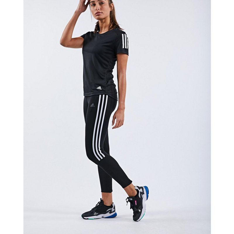 adidas RUNNING 3-STREIFEN TIGHT - Damen lang