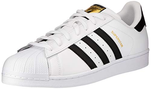 adidas Unisex-Erwachsene Superstar Low-Top, Weiß (Ftwr White/Core Black/Ftwr White), 44 2/3 EU
