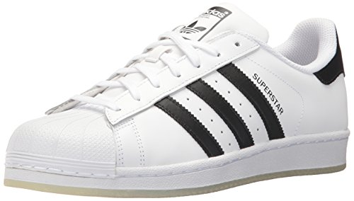 adidas Unisex-Erwachsene Superstar Low-Top, Weiß (Ftwr White/Core Black/Ftwr White), 42 EU