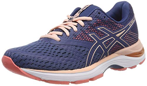 ASICS Damen Gel-Pulse 10 Laufschuhe, Blau (Grand Shark/Bakedpink 402), 41.5 EU