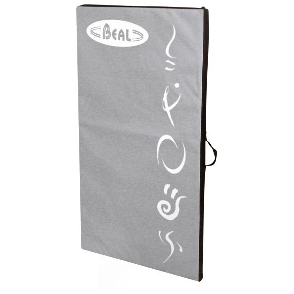 Beal - Addition Pad - Crashpad Gr 50 x 95 x 4 cm grau