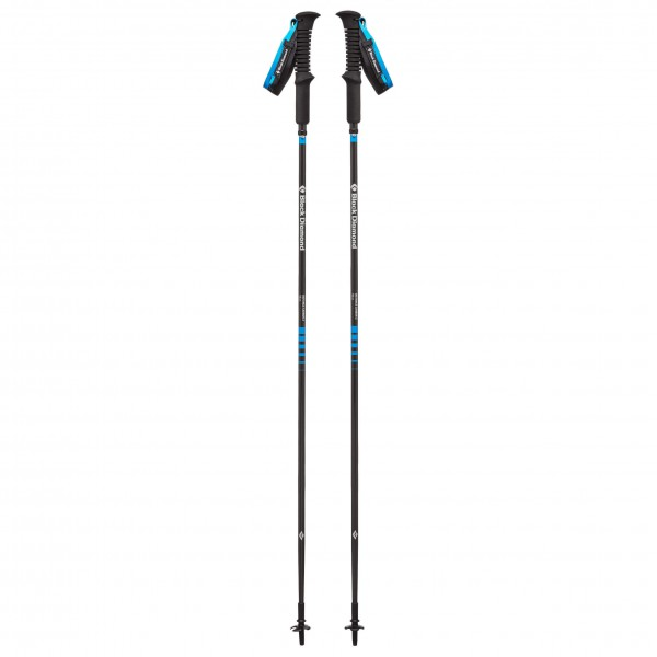 Black Diamond - Distance Carbon Z - Trailrunning Stöcke Gr 100 cm blau