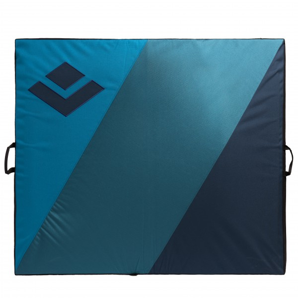 Black Diamond - Drop Zone - Crashpad Gr 104x122x9 cm blau/schwarz
