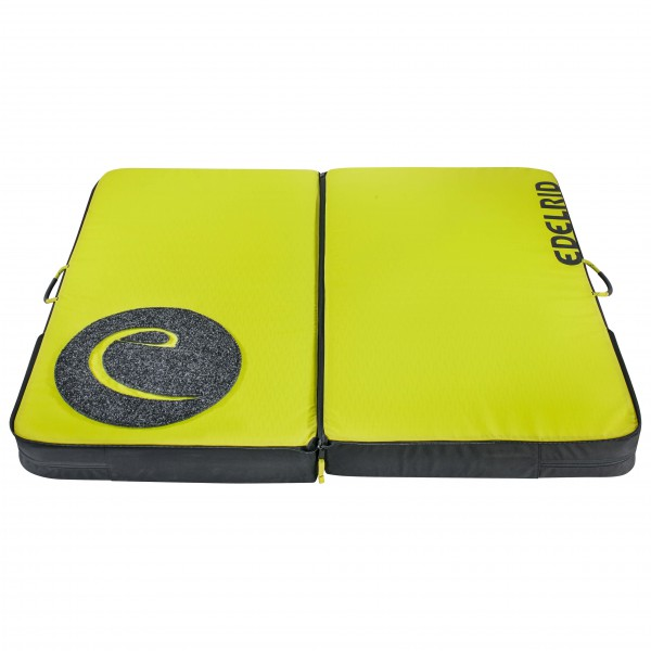 Edelrid - Mantle III - Crashpad gelb/grün