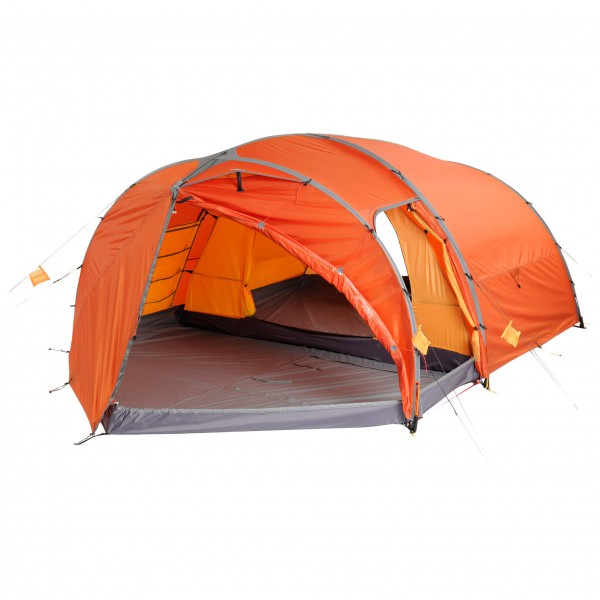 Exped - Venus III DLX Plus - 3-Personen Zelt grau;orange/rot