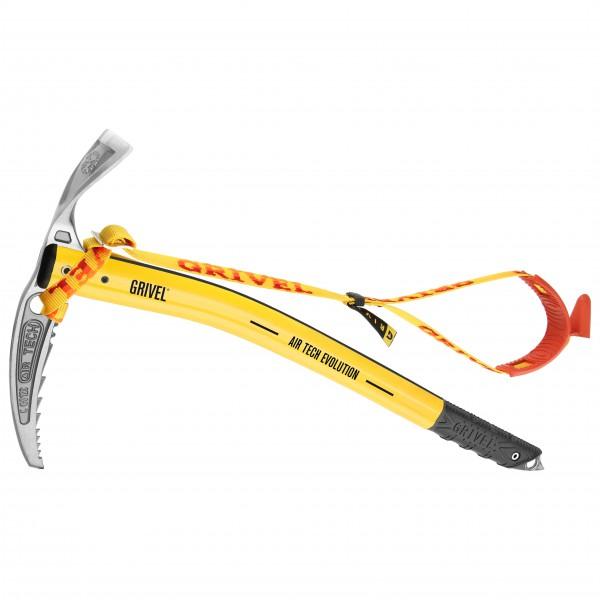 Grivel - Air Tech Evolution T - Eispickel Gr 58 cm gelb/grau