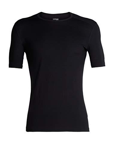 Icebreaker Herren 200 Oasis SS Crewe T-Shirt, Black, M
