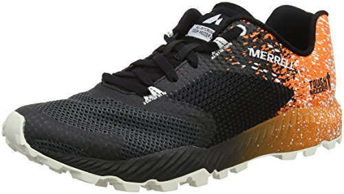 Merrell All Out Crush Tough Mudder 2, Herren Traillaufschuhe, Schwarz (Tm Orange), 43 EU (8.5 UK)