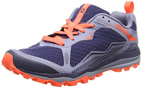 Merrell Damen All Out Crush Light Traillaufschuhe, Blau (Crown Blue), 38 EU