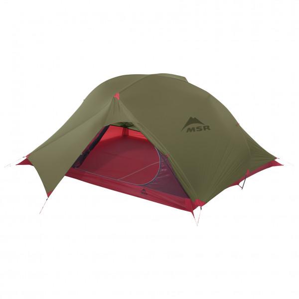 MSR - Carbon Reflex 3 Tent V4 - 3-Personen Zelt Gr 213 x 167 x 86 cm oliv/rot