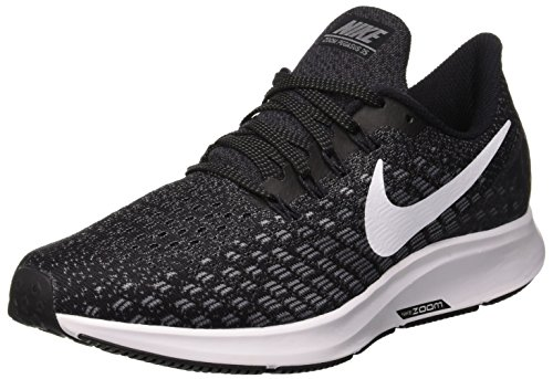 Nike Damen Air Zoom Pegasus 35 Laufschuhe, Mehrfarbig (Black/White/Gunsmoke/Oil Grey 001), 41...