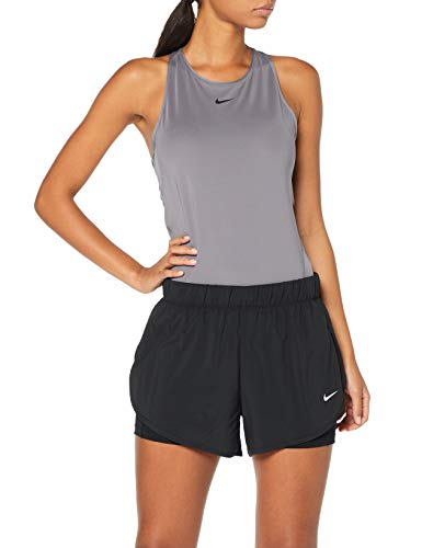 Nike Damen Flex Shorts, Black/White, S