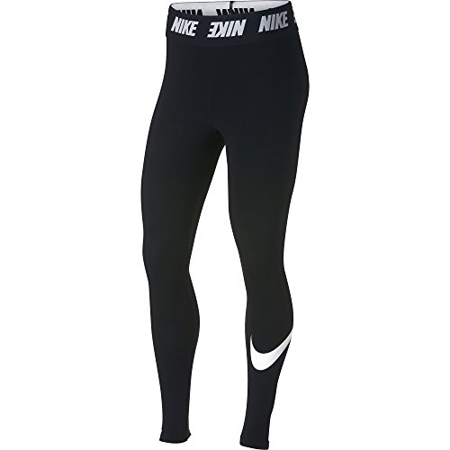 Nike Damen Sportswear Club High-Rise Leggings, Black/White, S