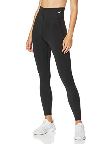 Nike Damen Victory Leggings, Black/White, M