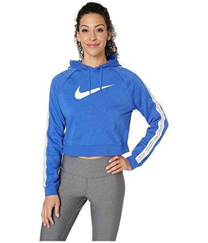 Nike Damen W NSW HYP FM Hoodie FLC Sweatshirt, Game Royal, S