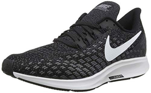 Nike Herren AIR Zoom Pegasus 35 Sneakers, Mehrfarbig (Black/White/Gunsmoke/Oil Grey 001), 44.5...