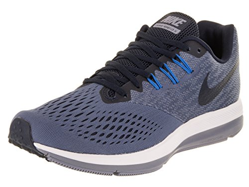 Nike Herren Zoom Winflo 4 Fitnessschuhe, Mehrfarbig (Diffused Blue/Obsidi 403), 45 EU