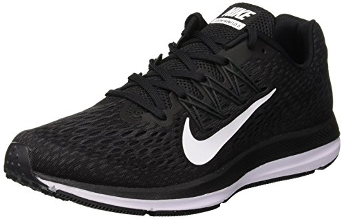 Nike Herren Zoom Winflo 5 Sneakers, Schwarz (Black/White/Anthracite 001), 44.5 EU